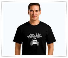 Jeep | T-Shirt | Jeep Life | Men's T-Shirt | Jeep Wrangler | Funny T-Shirt…