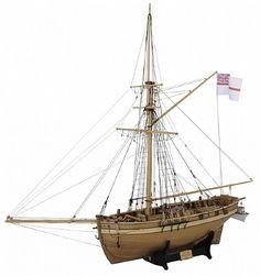 Ship Model Modellers Shipyard - HM Cutter Mermaid - Starters Pack
