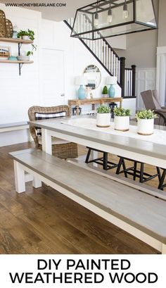 I'm guessing that most of you have seen my DIY farmhouse table and bench post, right? This was my first major furniture build and I absolutely LOVE my table and…