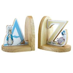 Buy Rainbow Designs Peter Rabbit Wooden Bookends Online at johnlewis.com