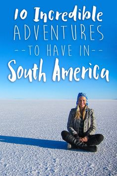 Vibrant, diverse, and completely captivating, South America is unlike anywhere else you have ever been. From the crystal clear waters of the Caribbean coastline to the rugged Andes Mountains, there is so much to see and do in South America. If you havent