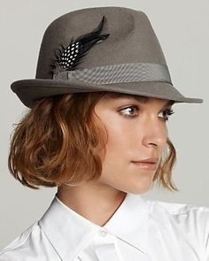 hats for women with short hair - Yahoo Image Search Results - หมวก - Hut Winter Hats For Women, Pinterest Fashion, Winter Hairstyles, Fedora Hat, Bad Hair, Girls Accessories, Headpiece, Short Hair Styles, Beauty