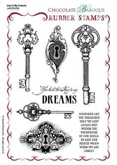 Stamp of the Week - Key to My Dreams
