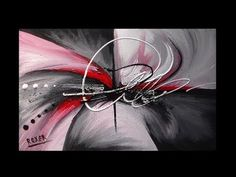 Abstract Painting / Art on Canvas / Sigh by Roxer Vidal - YouTube