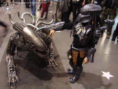 "Alien vs Predator ""grin""-Emoticon https://www.facebook.com/photo.php?fbid=1716914811911118"