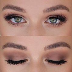 (notitle) - Haar und beauty - - Brautjungfern make-up - Makeup Bird Makeup, Skin Makeup, Beauty Makeup, Hair Beauty, Beauty Tips, Nude Makeup, Bridal Hair And Makeup, Prom Makeup, Wedding Hair And Makeup