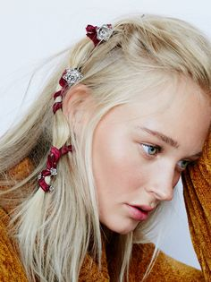 Hair & Beauty - Hair Accessories | Free People. View the whole collection, share styles with FP Me, and read & post reviews.