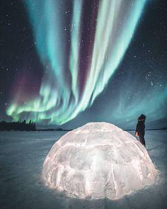 Northern Lights Photo by @dreamingandwandering - - Follow us @nationaldestinations Follow us @nationaldestinations