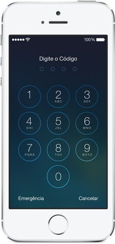Apple - iOS 7 - discador