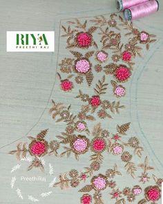 These Vibrant flowers 😍 on a pastel .. Skirt border making in the process .. #indianblouses #skirt #skirtstyle #zardosiworkblouse… Latest Kurti Design PHOTO PHOTO GALLERY  | KRANTI1857.ORG  #EDUCRATSWEB 2020-04-22 kranti1857.org http://www.kranti1857.org/images/Presentation_4.jpg