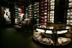 Abercrombie & Fitch Flagship Stores - New York London Los Angeles - Interior photo of store - Selldorf Architects