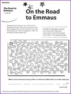 On The Road To Emmaus Kids Korner