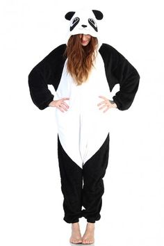 Panda Costume  sc 1 st  Pinterest & For Lucy: No-Sew Panda Costume | Fall | Pinterest | Panda costumes ...