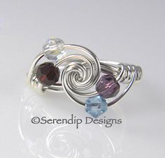 Hey, I found this really awesome Etsy listing at https://www.etsy.com/listing/98783476/grandmothers-ring-mothers-ring-argentium