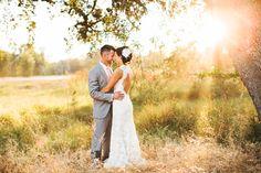 Rustic California Wedding. Josh Elliott Photography. Bride and groom portrait