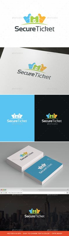 Ticket Logo Template — Vector EPS #tenis #entrance • Available here → https://graphicriver.net/item/ticket-logo-template/11694034?ref=pxcr