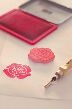 Deja huella: sellos y tintas