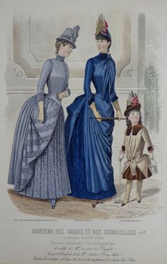 Moniteur des Dames et des Demoiselles 1887