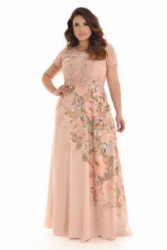Curvy Verao 2018 - Fascinius Moda Evangélica Plus Size Summer Dresses, Plus Size Gowns, Plus Size Summer Outfit, Plus Size Outfits, Simple Party Dress, Simple Lehenga, Special Dresses, Plus Size Fashion For Women, Plus Size Wedding