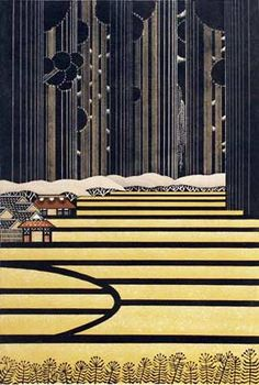 http://www.azumagallery.com/gallery/artists/raymorimura3.html Rey Morimura The things I would do to live in these woodblocks..these are so lovely I might cry.