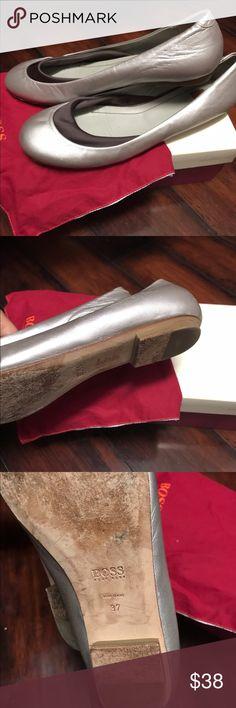Hugo Boss ballet flats Authentic Hugo Boss ballet flats. Size 7. Original dust bag. Hugo Boss Shoes Flats & Loafers