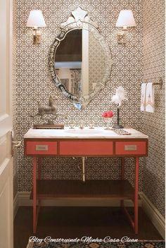 Construindo Minha Casa Clean: Espelhos Venezianos para Decorar e Encantar!!! 30…