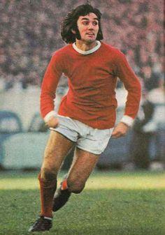 George Best of Man Utd in 1970.
