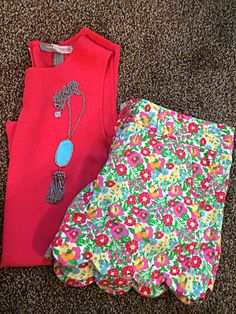 Scalloped Lilly and Kendra Scott