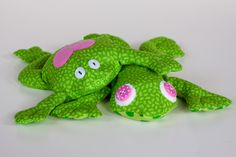 Free Frog Sewing Patterns | July 29 - New frog design + more bean bags