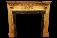 Late Georgian Pine Restored Antique Fire Surround // for sale in UK / March 2018
