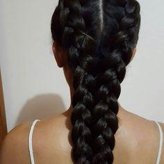 Top 100 cute braided hairstyles photos Simple but beautiful French braids on a Sunday  #braided #braidedbeauty #braidedhairstyles #hairoftheday #hairofinstagram #haironfleek #hair #hairinspiration #style #stylist #hairporn #hairart #french #braids #frenchbraids #healthyhair #curlytostraight #thick #simple #sundayfunday #naturalhair #caribbean #islandlife #islandgirl See more http://wumann.com/top-100-cute-braided-hairstyles-photos/
