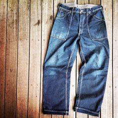 "327 Likes, 5 Comments - Desolation Row (@freewheelers_and_company) on Instagram: """"LONGSHOREMAN OVERALLS"" -1900s〜1920s STYLE WORK CLOTHING- #freewheelers #wabash #workpants"""