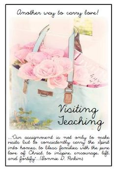Didi @ Relief Society: Visiting Teaching - Another way to carry love! - Card