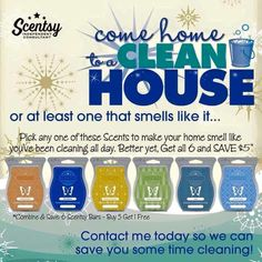 Mask those everyday odors with Scentsy!