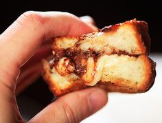 """Brie and Nutella Grilled Cheese 