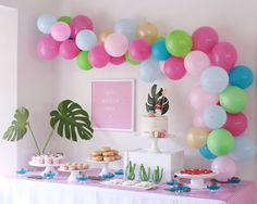 The prettiest Moana party you ever saw – Confetti Fair 2nd Birthday Party Themes, Moana Birthday Party, 17th Birthday, Birthday Ideas, Moana Themed Party, Moana Party, Party Favor Bags, Party Desserts, Maya