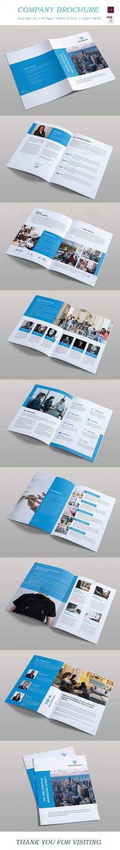#Brochure - #Brochures Print #Templates Download here:  https://graphicriver.net/item/brochure/20442529?ref=alena994