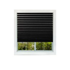 Black Out Temporary Pleated Window Shade 36-by-72-inch, 8-pack by Window Temps. $25.99. Customize to fit any window. Hangs & Removes in seconds. No nails,screws or brackets, simply peel and stick. Recyclable and cordless shade is safe for children and pets. 36-Inch by 72-Inch. Window Temps  Black Out shades block all light; perfect for an infant's room, bedrooms and media entertainment rooms. Ideal for metropolitan areas. Stylish look with no cords for added s...