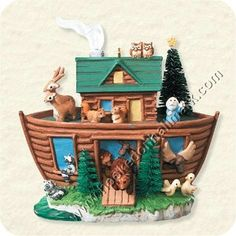 33 Best Noah S Ark Ornaments Images Ornaments Ark