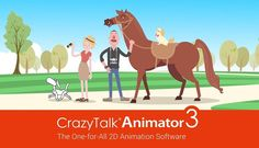 CrazyTalk Animator 3 Pro Serial Number + Crack Full Free. You can import any 3D motion from iClone & apply it to a 2D character for awesome 3D animations.