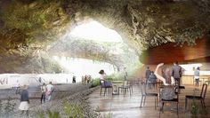 """Kengo Kuma's Design For A Cultural Museum Is Like Stepping Into """"Jurassic Park"""""""