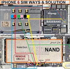 IPHONE 6 All SCHEMATIC Diagram 100% Working Jumper