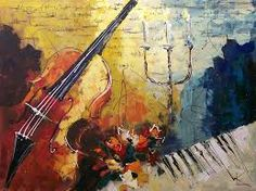 """""""Capriccio Italien"""" Original canvas painting by Lena Karpinsky Canvas Paintings For Sale, Paintings I Love, Beautiful Paintings, Canvas Artwork, Original Paintings, Original Artwork, Piano Y Violin, Famous Art Pieces, Music Painting"""