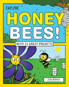 What did you have for breakfast this morning? Toast, cereal, juice, and fruit? You can thank the honey bees! About one out of every three mouthfuls we eat is affected by honey bee pollination. In Explore Honey Bees! With 25 Great Projects, young readers learn about honey bee colonies, why honey bees live in hives, how honey bees communicate with each other, and why they are so important to human lives. #InspireLearning #BooksToInspireLearning