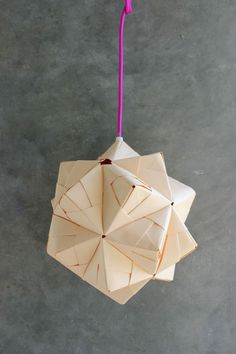 DIY - Sonobe Ball Lamp Anleitung