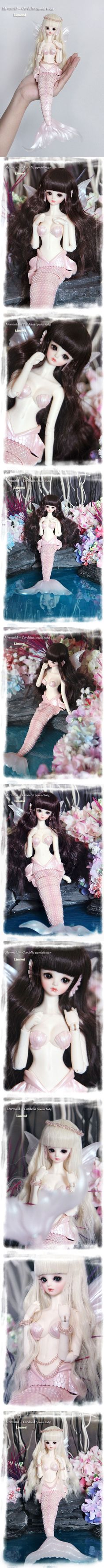BJD Mermaid-Cordelia【special body】 Girl Ball-jointed Doll_Limited dolls_ASLEEP EIDOLON_DOLL_Ball Jointed Dolls (BJD) company-Legenddoll