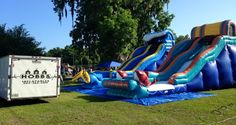 A great local company to rent from. Home | Hobbs' Inflatables - Hilliard, Florida
