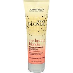 Choose shampoo for the hair you want.not the hair you have. Brilliant new idea: If you're brunette and want brightness, use a blond-specific shampoo that enhances color without dye. Try John Frieda Sheer Blonde Ever-lasting Blonde Shampoo Skin Care Regimen, Skin Care Tips, Beauty Secrets, Beauty Hacks, Beauty Products, Diy Beauty, Homemade Beauty, Hair Products, John Frieda