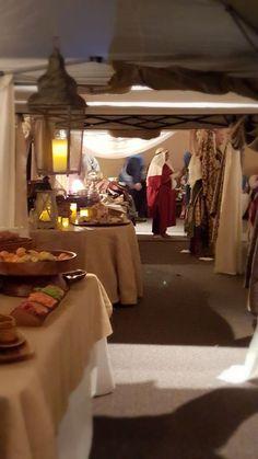 Journey to bethlehem christmas party decorations and booth for Idea door journey to bethlehem