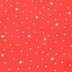 Tissu Première Etoile coloris pamplemousse - Tissus/Première Etoile - Motif Personnel